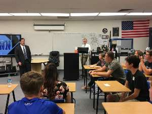 Image: Governor Doug Ducey Visits Safford High School & Lafe Nelson School!